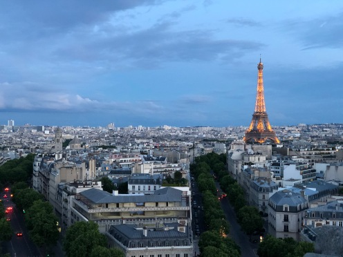Top of the Arc de Triomphe
